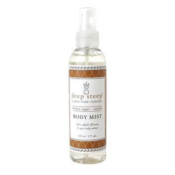 Deep Steep Body Mist, Brown Sugar Vanilla, 6 fl oz