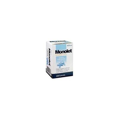Monolet Original Lancets Sterile 21G - 200 Count