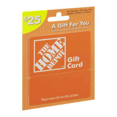 The Home Depot Gift Card $25