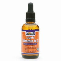 NOW Foods Liquid Vitamin D-3 Structural Support