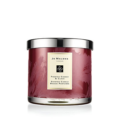 Frosted Cherry & Clove Deluxe Candle - Jo Malone London - Red