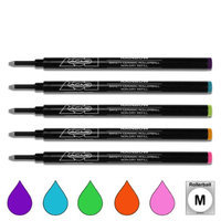 Acme Studios PREFRBOWBOX Roller Ball Refills Rainbow Colors Set Of 5