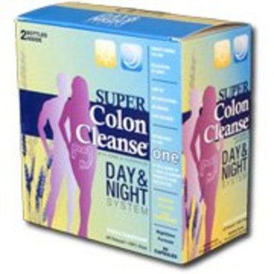 Super Colon Cleanse-Day/Night 2 Piece Kit Health Plus 1 Kit