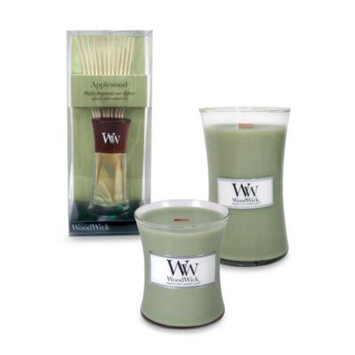 WoodWick Applewood 10-Ounce Jar Candle