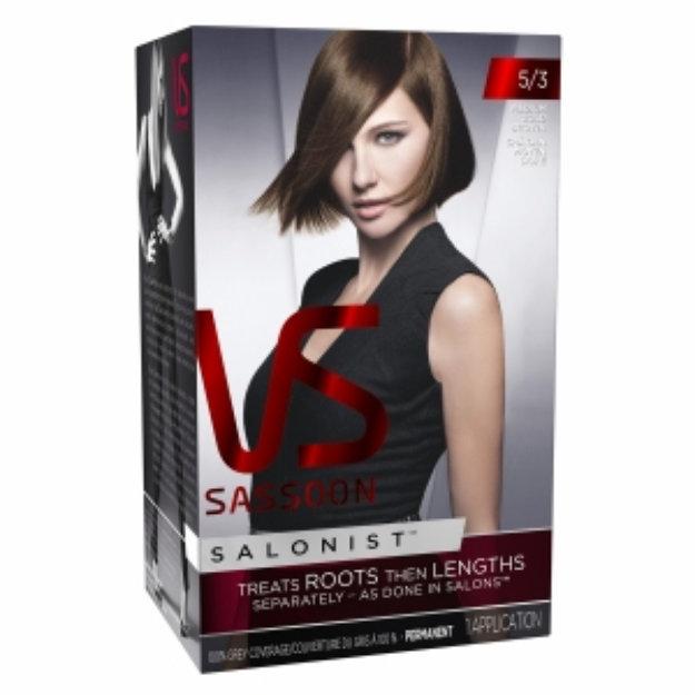 Vidal Sassoon Salonist Hair Colour Permanent Color 53 Medium Gold