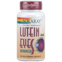 Solaray Lutein Eyes Advanced - 24 mg - 60 Vegetarian Capsules