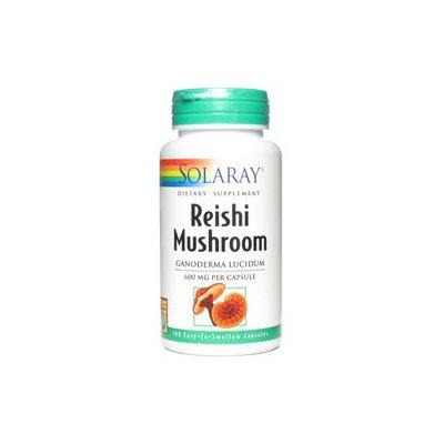 Solaray - Reishi Mushroom 600 mg. - 100 Capsules