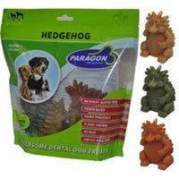 PARAGON PET PRODUCTS USA INC. PARAGON 154015 18-Count Display Box Dental Pet Treat Hedgehog