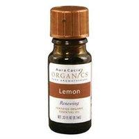Aura Cacia - Essential Oil Organic Lemon - 0.25 oz.