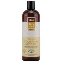 Frontier Natural Products Co-op 220453 Lily of the Desert Aloe 80 Organics Skin Soothing Aloe Gel 16 fl. oz. Body Care