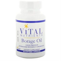 Vital Nutrient's Vital Nutrients - Borage Oil 1000 mg. - 60 Softgels