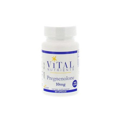 Vital Nutrient's Vital Nutrients - Pregnenolone 10 mg. - 60 Vegetarian Capsules