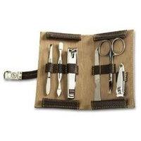 Kohls Leather Travel Grooming Set