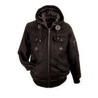 Hudson Outerwear Men's Tundra Jacket-X-Large, Black