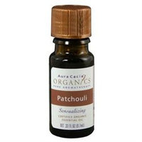 Frontier Natural Products Co-op 190805 Patchouli, Dark, Essential Oil, ORGANIC, .25 oz. bottle