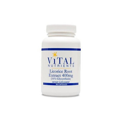Vital Nutrient's Vital Nutrients - Licorice Root Extract 400 mg. - 90 Capsules