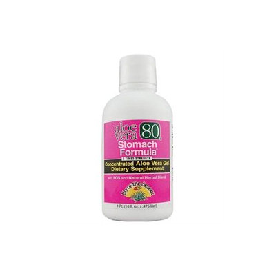 Lily Of The Desert - Aloe Vera 80 Stomach Formula - 16 oz.