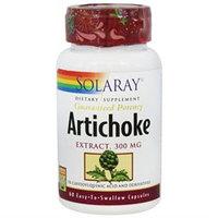 Solaray Artichoke Extract - 300 mg - 60 Capsules