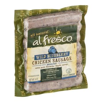 Al Fresco All Natural Chicken Sausage Wild Blueberry