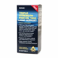 GNC Triple Strength Fish Oil 1400 + Joint Support