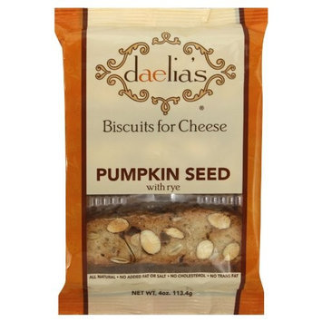 Daelia's Biscuits for Cheese Pumpkin Seed Rye 12/4oz