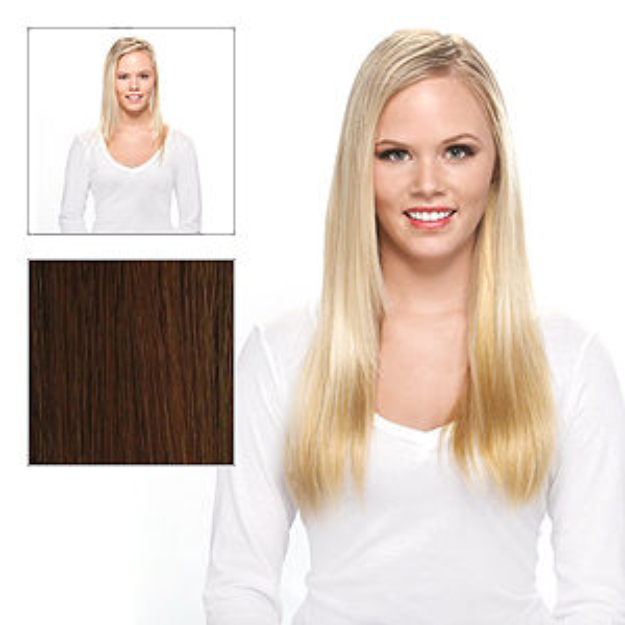 Effortless Extensions FEELsoREAL Synthetic Straight Hair Extension