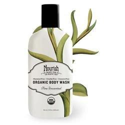 Nourish - Organic Body Wash Pure Unscented - 10 oz.