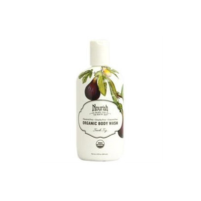 Nourish Organic Body Wash Fresh Fig - 10 fl oz