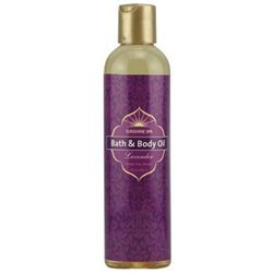 Sunshine Spa, Bath & Body Oil Lavender 8 oz