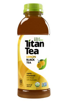 Titan Tea TEA, BLACK, LEMON, (Pack of 12)