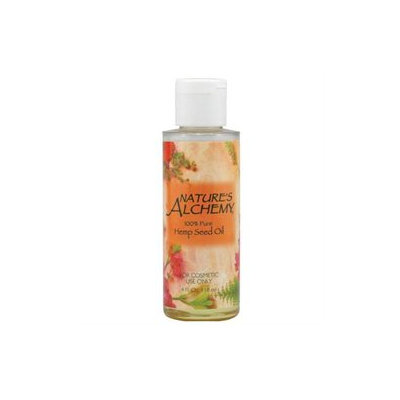 tures Alchemy Nature's Alchemy, Hemp Seed Oil 4 fl oz