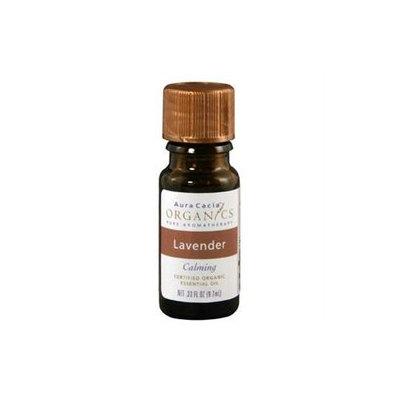 Aura Cacia - Essential Oil Organic Lavender - 0.25 oz.