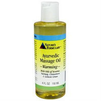 tures Formulary Nature's Formulary Warming Massage Oil - 4 fl oz