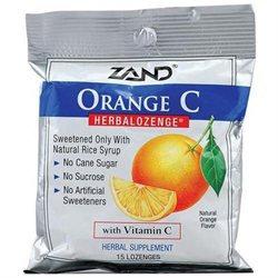 Zand HerbaLozenge Orange C Natural Orange - 15 Lozenges