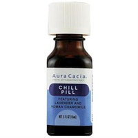 Aura Cacia Pure Aromatherapy Essential Oil Chill Pill