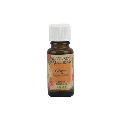 tures Alchemy Pure Essential Oil Ginger, 0.5 oz, Nature's Alchemy