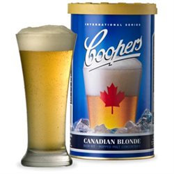 Coopers DIY 11-00912-00 Canadian Blonde Hopped Malt Refill