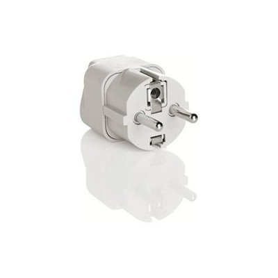 Conair Grounded Adapter Plug-Europe Middle East etc
