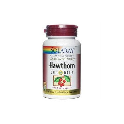 Solaray - Hawthorn One Daily Guaranteed Potency - 30 Capsules