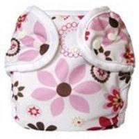 Bummis Super Snap Diaper Cover, Bloom, Newborn (Discontinued by Manufacturer)