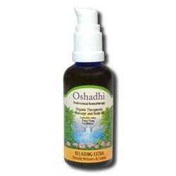 Oshadhi - Massage Oil, Relaxing Extra Organic, 100 ml