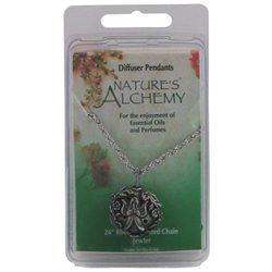 tures Alchemy Diffuser Pendant Necklace, Angel, 1 pc, Nature's Alchemy
