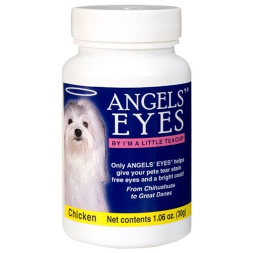 Angels Eyes Tear Stain Remover for Dogs, Chicken Flavor, 30 grams