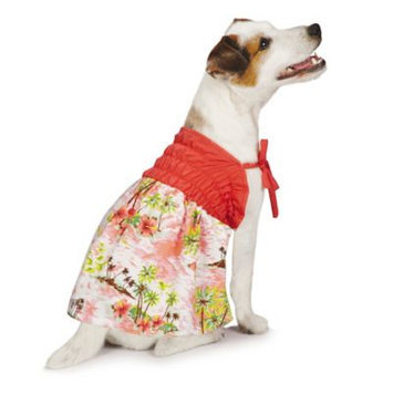 Casual Canine ZM8257 12 75 Hawaiian Breeze Sundress Sm Coral