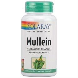 Solaray - Mullein 330 mg. - 100 Capsules