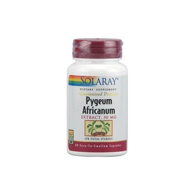 Solaray Pygeum Africanum Extract - 50 mg - 60 Capsules