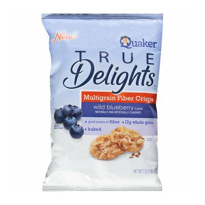 Quaker® True Delights Multigrain Fiber Wild Blueberry Flavor Crisps