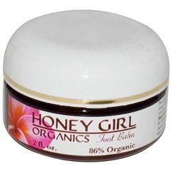 Honey Girl Organics Foot Balm - 2 fl oz