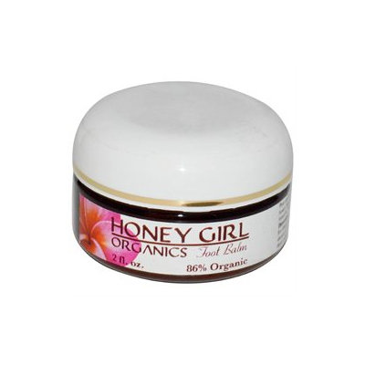 Honey Girl Organics Foot Balm - 2 fl oz