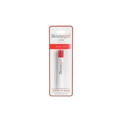 Skinnygirl Face & Body Skinnygirl Face and Body Tinted Lip Balm, Bright Red, .07 oz